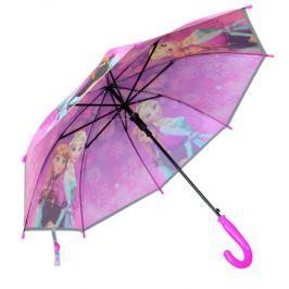 E plus M Dievčenské dáždnik Frozen - fialový