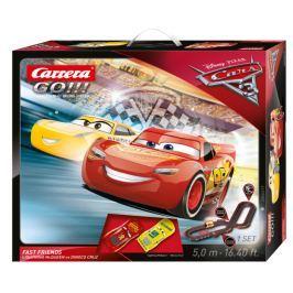 Carrera Autodráha GO 62419 Cars 3 - Fast Friends
