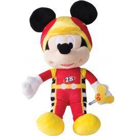Mikro hračky Mickey Mouse pretekár plyšový 30 cm