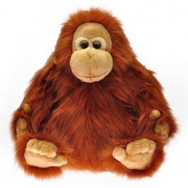 Mikro hračky Orangutan plyšový 30 cm sediaci