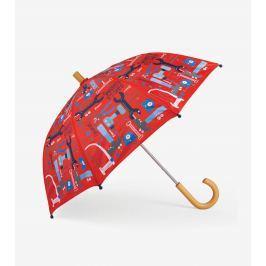 Hatley Chlapčenský dáždnik Mr. Fix It - červený