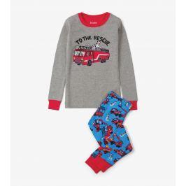 Hatley Chlapčenské pyžamo s hasičmi Fire Truck - farebné