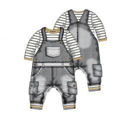 Minoti Chlapčenský dvojkomplet Grey - sivý