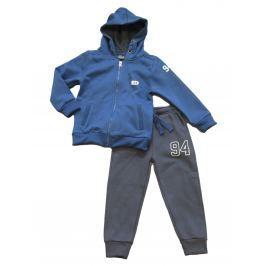 Carodel Chlapčenská tepláková súprava - modro-šedá