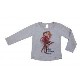 Carodel Dievčenské tričko Best Friend - šedé