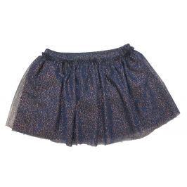 Carodel Dievčenská trblietavá sukňa - modrá
