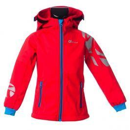 O'Style Dievčenská softshellová bunda Ivon - červená