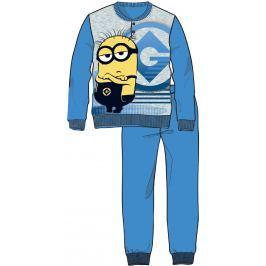 Disney by Arnetta Chlapčenské pyžamo Mimoni - modré