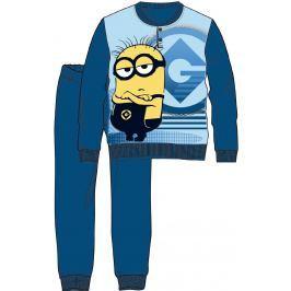 Disney by Arnetta Chlapčenské pyžamo Mimoni - tmavo modré