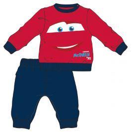 Disney by Arnetta Chlapčenské pyžamo Cars - modro-červené