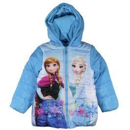 E plus M Dievčenská bunda Frozen - modrá