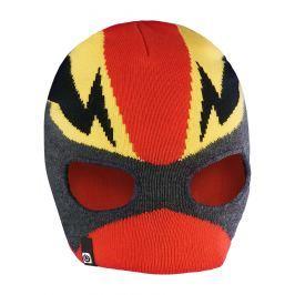 Brekka Chlapčenská čiapka Mask - červená