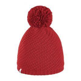 Brekka Detská čiapka s brmbolcom Flake - červená