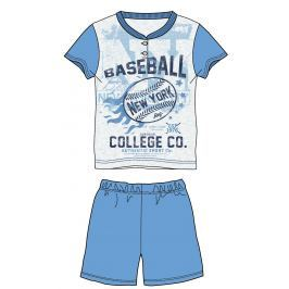 Mix 'n Match Chlapčenské pyžamo Baseball - modré
