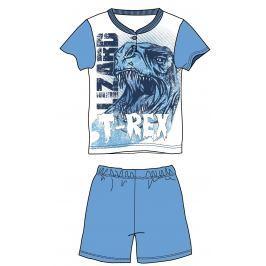 Mix 'n Match Chlapčenské pyžamo T-Rex - svetlo modré
