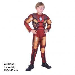 MaDe Karnevalový kostým - Superhrdina, 130 - 140 cm