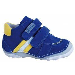 Protetika Chlapčenské členkové topánky barefoot Maty - modré