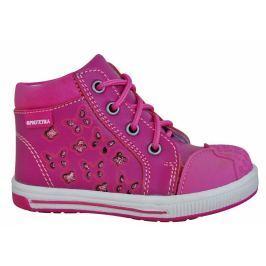 Protetika Dievčenské členkové topánky Savana - ružové
