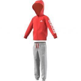 adidas Chlapčenská tepláková súprava LK Hojo - šedo-červená