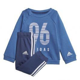 adidas Chlapčenská tepláková súprava IE CREW JOG - modrá