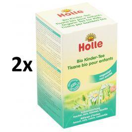 Holle BIO detský čaj 2 × 30g