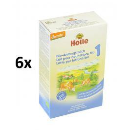 Holle BIO počiatočná dojčenská výživa 6x400g