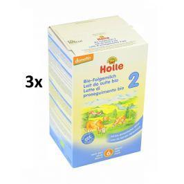 Holle BIO detská mliečna výživa 2 - 3x600g