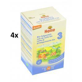 Holle BIO detská mliečna výživa 3 - 4x600g