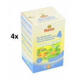 Holle BIO detská mliečna výživa 4 - 4x600g