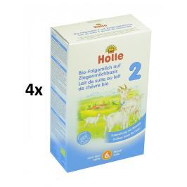 Holle BIO detská mliečna výživa na báze kozieho mlieka 2 - 4x400g