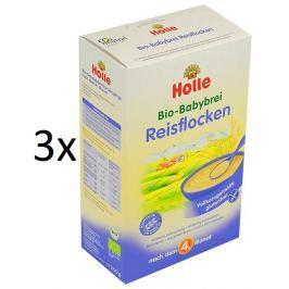 Holle BIO ryžová bezmléčná kaša 3x250g
