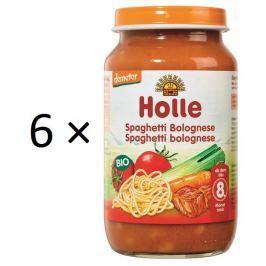 Holle BIO príkrm Spaghetti Bolognese 6x220g