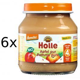Holle BIO príkrm jabĺčko 6x125g