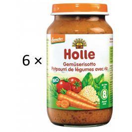Holle BIO príkrm zeleninové rizoto 6x220g