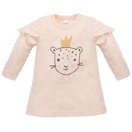 Pinokio Dievčenské tunika Sweet Panther - svetlo oranžová