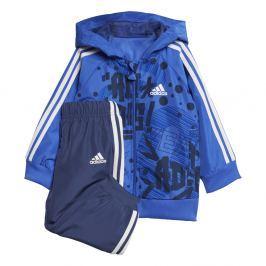 adidas Chlapčenská tepláková súprava Favorites - modro-čierna