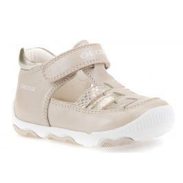 Geox Dievčenské sandále New Balu - béžové