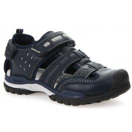Geox Chlapčenské sandále Borealis - čierne