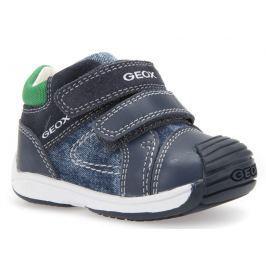 Geox Chlapčenské členkové topánky Toledo - modré