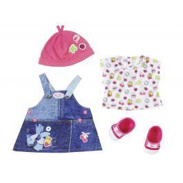 BABY born® Džínsová súprava šaty na traky