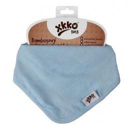 XKKO Bambusový slintáčik Colours - Baby Blue