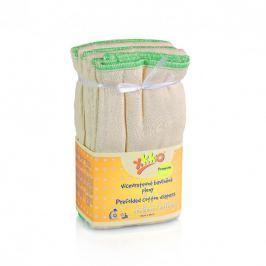 XKKO Skladané bavlnené plienky Natural - Premium, 6ks