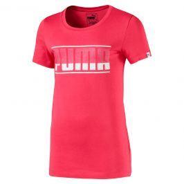 Puma Dievčenské tričko Graphic Tee Paradise - ružové
