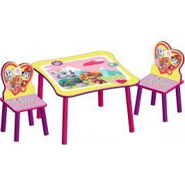 Delta Detský stôl so stoličkami Paw Patrol
