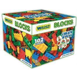 WADER Kocky stavebnice pre chlapcov plast 102 ks