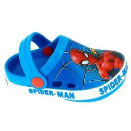 Disney by Arnetta Chlapčenské sandále Spiderman - modré