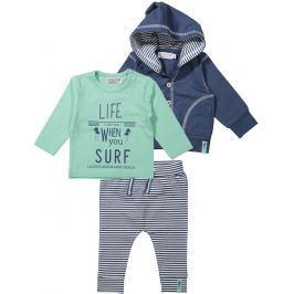 Dirkje Chlapčenský trojkomplet Life - zeleno-modrý