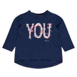 Name it Dievčenské tričko You - modré