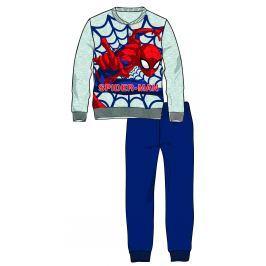 Disney by Arnetta Chlapčenské pyžamo Spiderman - šedé