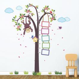 Walplus Samolepky na stenu, strom s opičkou